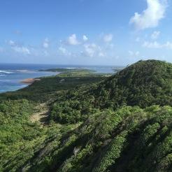 La Martinique vue du ciel, c'est encore mieux.
