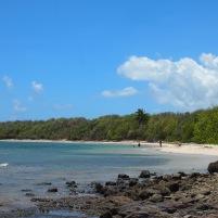 Paysage typique de Martinique, un petit coin de paradis.