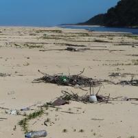 Congo déchets plage